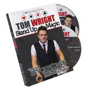 Standup Magic (2 DVD) by Tom Wright-42256
