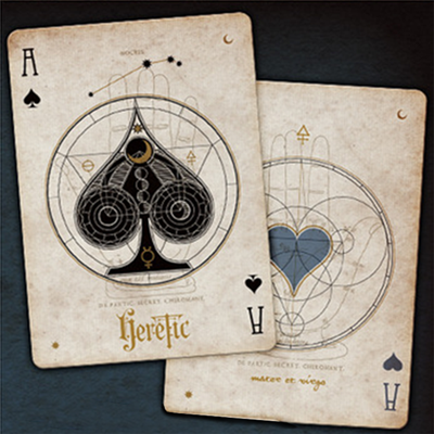 Heretic (Noctis) Deck by Stockholm17 Playing Cards-42622